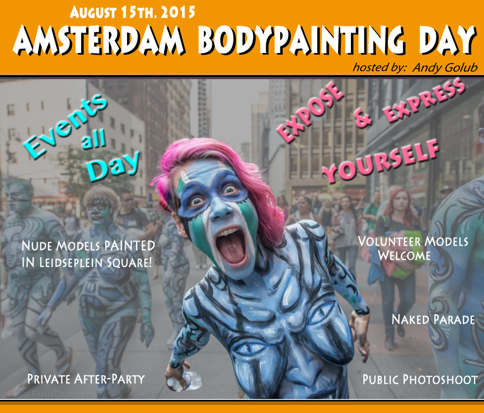Amsterdam BodyPainting Day