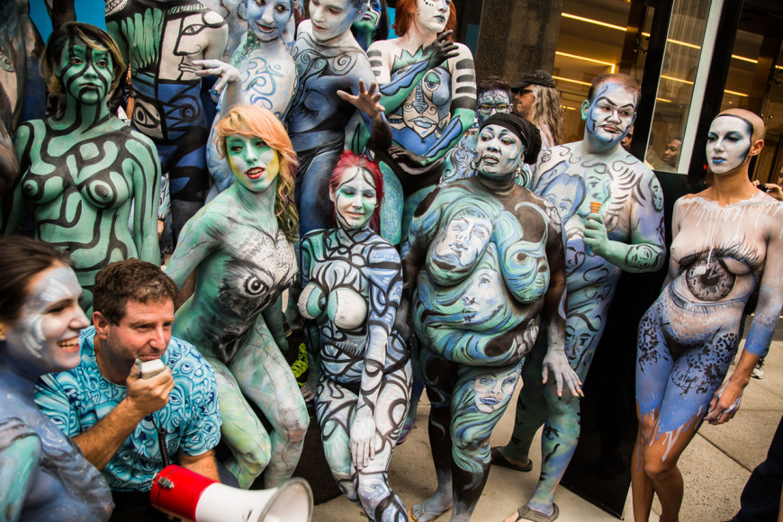 The San Francisco Bodypainting Day - Human Connection Arts