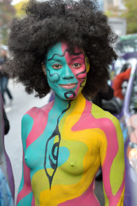 photo: Prabir Mitra          body paint artist: Andy Golub
