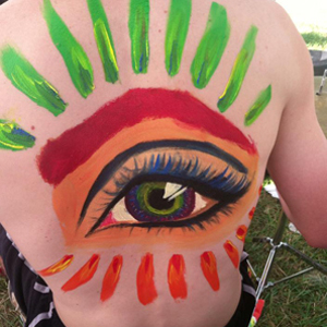 "Rosie Mae ""I've modeled for andy several times...I'd love to have the chance to contribute in a whole new way to body painting day!"""