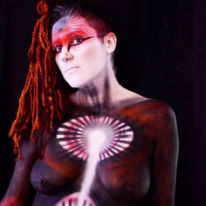 "Shara Meltzer Osgood ""I have been a body painter for over 20 years. It can be such a healing process."""