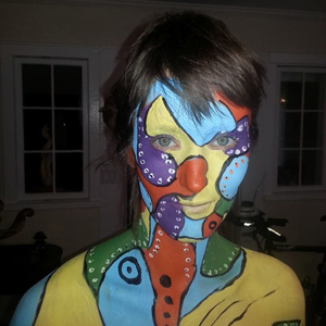 "Steven Witten ""I want to expand my skill set and experiences with body painting."""
