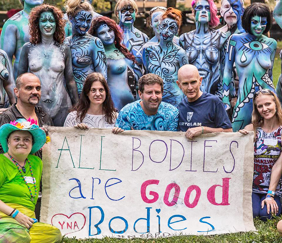 nyc bodypainting day 2014 all bodies are good bodies