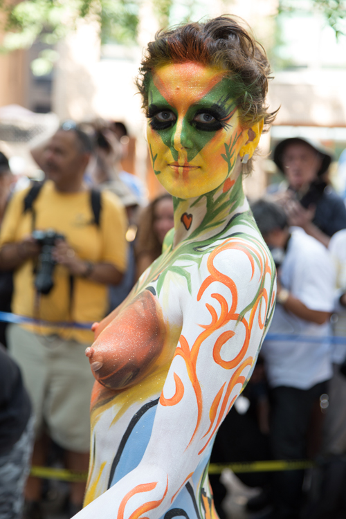 Bodypainting day 2016 nyc cutie 2 - 3 9