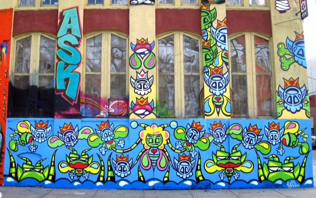 kidlew artist 5 pointz mural bodypainting day nyc