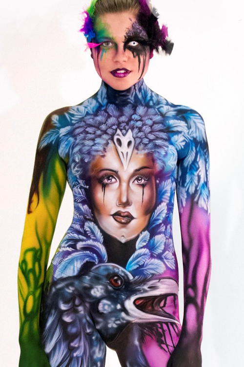 the artists of nyc bodypainting day 2016 bodypainting day