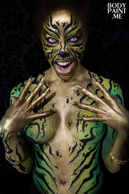 matt deifer body painting artist nyc bodypainting day