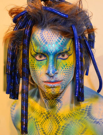 shara osgood artist body painter bodypainting day